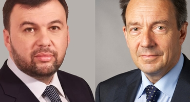 DENIS PUSHILIN HELD A MEETING WITH ICRC PRESIDENT PETER MAURER