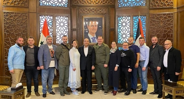 DPR DELEGATION VISITED SYRIA WITH A WORKING VISIT