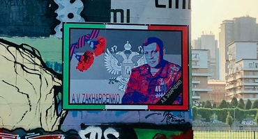 Images appeared in memory of Alexander Zakharchenko in Italy