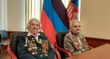 DPR veterans took part in the international video conference dedicated to the 75th anniversary of victory